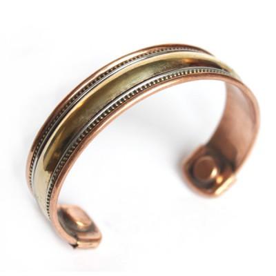Bracelet Cuivre et Aimants (brcuig10)
