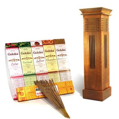 Encens Goloka - Pack Découverte (packdec02/t7)