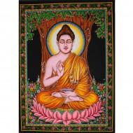 Tenture Batik Bouddha (ptbfl01)