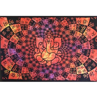 """Tenture Indienne """"Ganesh"""" (tmm235vo)"""