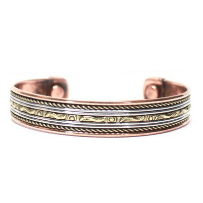 Bracelet Cuivre et Aimants (brincui02/2)