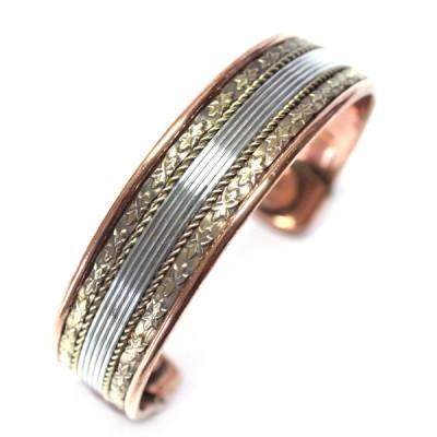 Bracelet Cuivre et Aimants (brcuig06/2)
