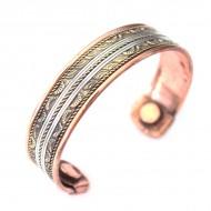Bracelet Cuivre et Aimants magnétothérapie