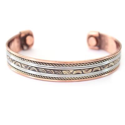 Bracelet Cuivre et Aimants (brincui010)