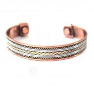 Bracelet Cuivre et Aimants (brincui015)