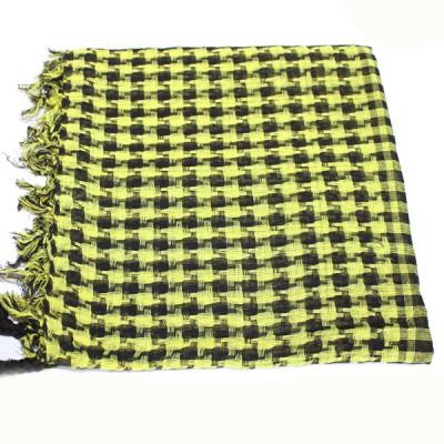 Keffieh jaune vert à carreaux(012)