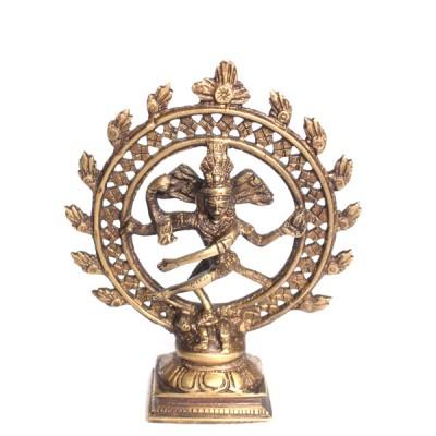 Statuette Shiva Nataraja - Statuette Indienne (stabnat02))