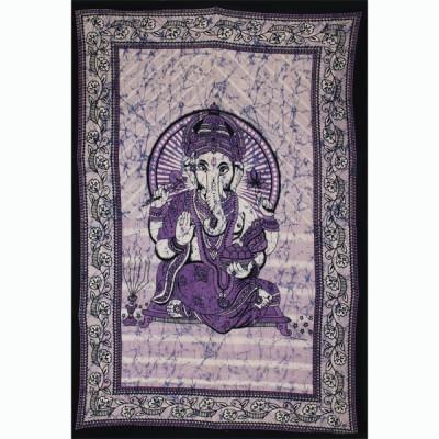 "Tenture Indienne ""Ganesh"" (tmm240)"