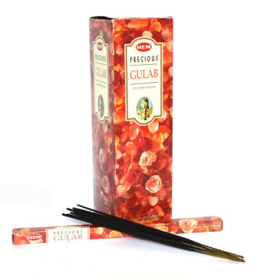 "Encens indien ""Precious Gulab"" - Rose(gulhem 25/8)"