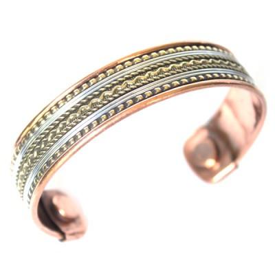 Bracelet Cuivre et Aimants (brcuig018)