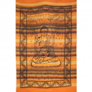 """Tenture Indienne""""Bouddha""""(tmm163/2)"""