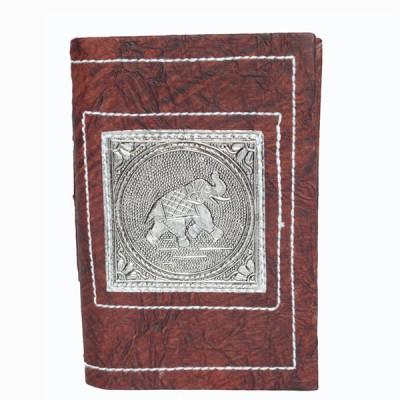 Carnets indiens moyen modèle. Motifs - Om, Ganesh, Elephant, Paon