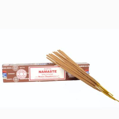 """Encens indien """"Namasté"""" de Satya (namasat1/15)"""