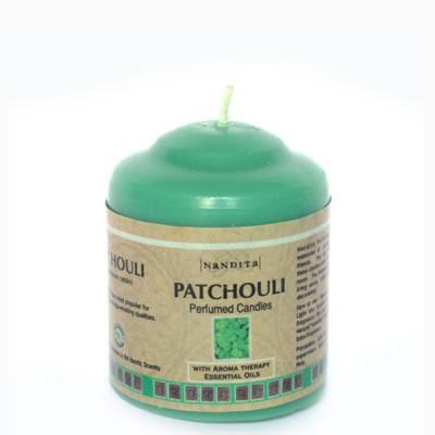 """Bougie Indienne Parfumée """"Patchouli"""" (bpi01pat)"""