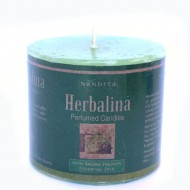 "Bougie Parfumée de l'Inde ""Herbalina""(bpi02her)"