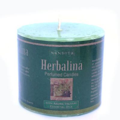 "Bougie Indienne Parfumée ""Herbalina"" (bpi02her)"