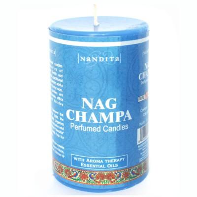 "Bougie Indienne Parfumée ""Nag Champa"" (bpi03nag)"