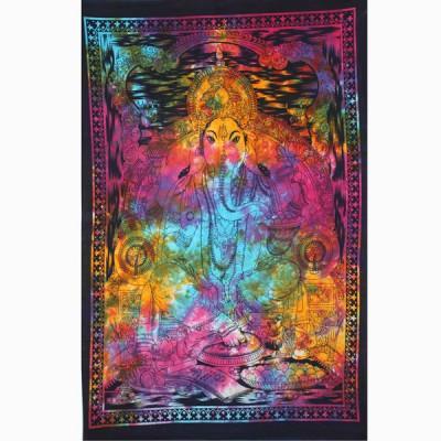 "Tenture Indienne ""Ganesh"" (tptgan01m)"