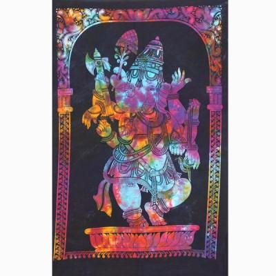 "Tenture Indienne ""Ganesh"" (tptgan03m)"