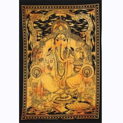 "Tenture Indienne ""Ganesh"" (tptgan06j)"