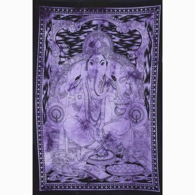 """Tenture Indienne """"Ganesh"""" (tptgan08v)"""