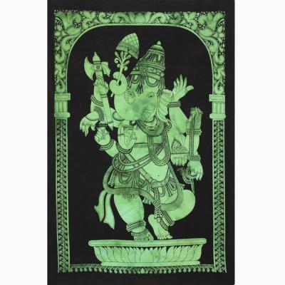 """Tenture Indienne """"Ganesh"""" (tptgan09v)"""