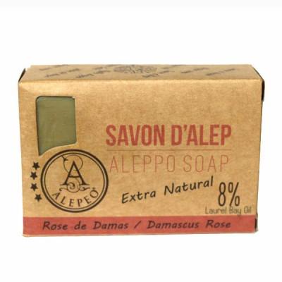 """Savon d'Alep """"Rose de Damas"""""""""""