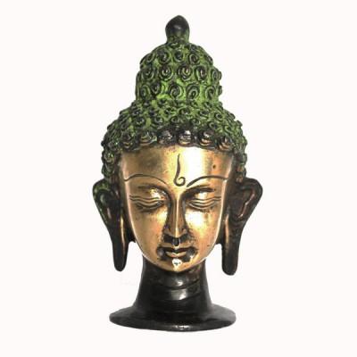 Statuette Tête de Bouddha - Statuette Indienne (stabtb03/2)
