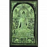"Tenture Indienne ""Bouddha"" (tptboud03v)"