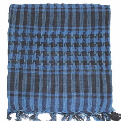 Keffieh bleu à carreaux(011)
