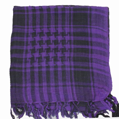 Keffieh violet à carreaux(009)