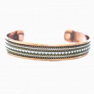 Bracelet Cuivre et Aimants (brincui016)