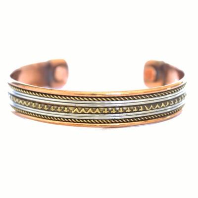 Bracelet Cuivre et Aimants (brincui20)