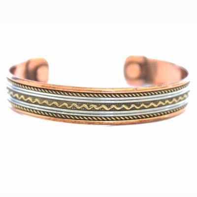 Bracelet Cuivre et Aimants (brincui21)
