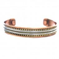 Bracelet Cuivre et Aimants (brincui019)