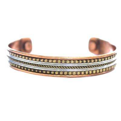 Bracelet Cuivre et Aimants (brincui22)