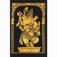 "Tenture Indienne ""Ganesh"" (tptgan11j)"