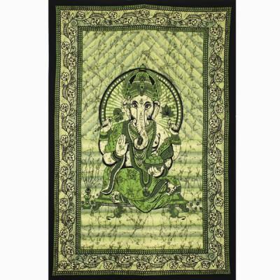 "Tenture Indienne ""Ganesh"" (tmm263)"