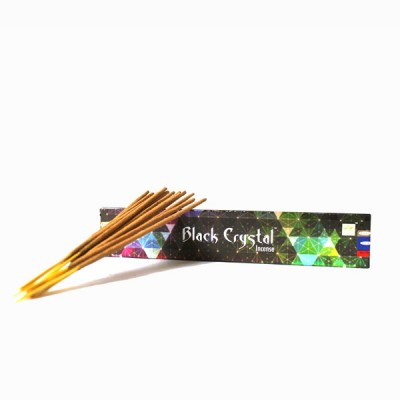 "Encens indien ""Black Crystal"" de Satya (blacksat1/15)"