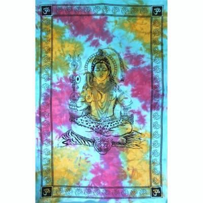 "Tenture Indienne ""Shiva"" (tmm266)"