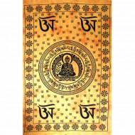 "Tenture Peinte ""Bouddha Tibetain""(tmm269)"