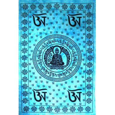 "Tenture Murale ""Bouddha Tibétain""(tmm271b)"