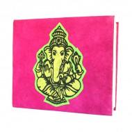 """Carnet népalais motif """"Ganesh"""" (cnepgan01p)"""