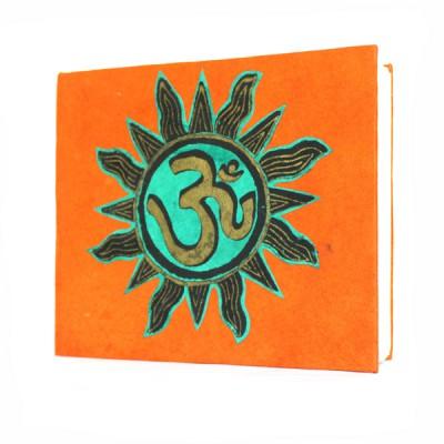 "Carnet népalais motif ""Om"" (cnepom05p)"