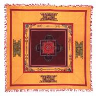 Tenture Brodée Tibétaine (ttpc07ob)