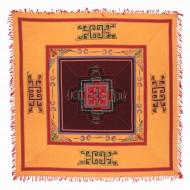 Tenture Brodée Tibétaine (ttpc05ob)