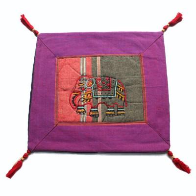 Housse de coussin style tibétain (hctib05p)