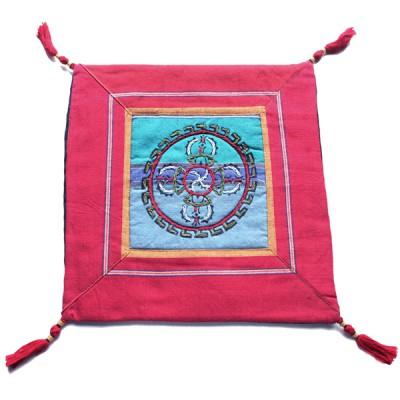 Housse de coussin style tibétain (hctib08p)