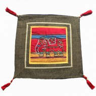 Housse de coussin style tibétain (hctib01p)
