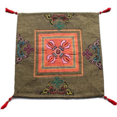 Housse de coussin style tibétain (hctib11m)